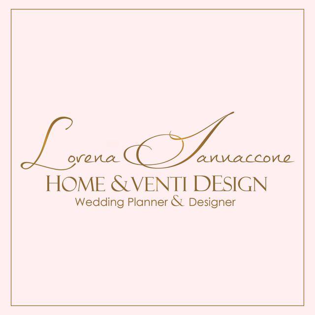 home & venti design logo