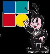 logo della Piazzetta con coccinella animata