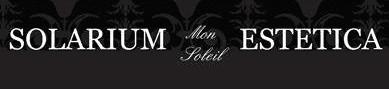 solarium mon soleil estetica logo
