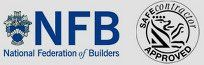 NFB and Safe Contractor logos
