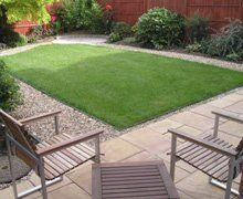 lawn laid