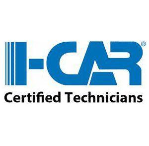 I-CAR certified Technicians