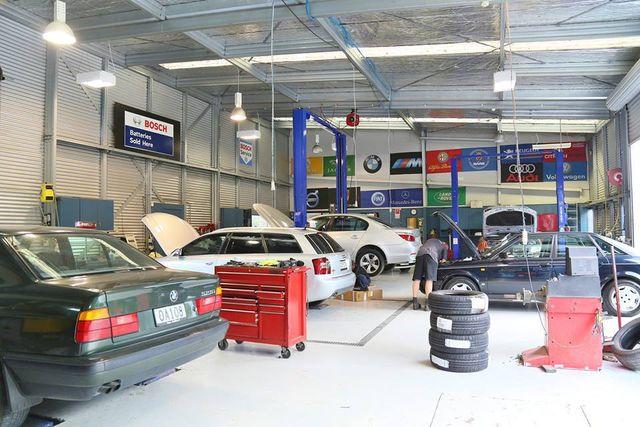 European car servicing