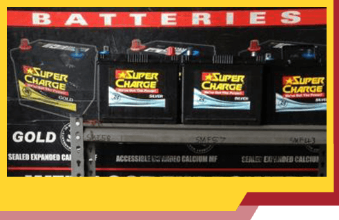 Gill's Garage Batteries Super Charge