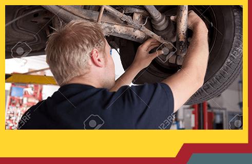 Gill's Garage Currrumbin Services Man on Work
