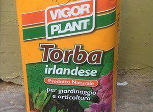prodotto naturale per giardinaggio e orticoltura a base di torba irlandese