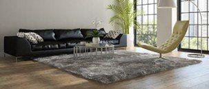 Wooden Floor Living Room — Krauseneck Carpet One Floor & Home in Mount Clemens, MI