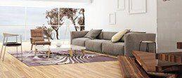Beautiful Living Room with Wooden Floor — Krauseneck Carpet One Floor & Home in Mount Clemens, MI