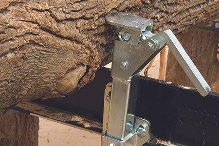 Quick Set Log Clamp