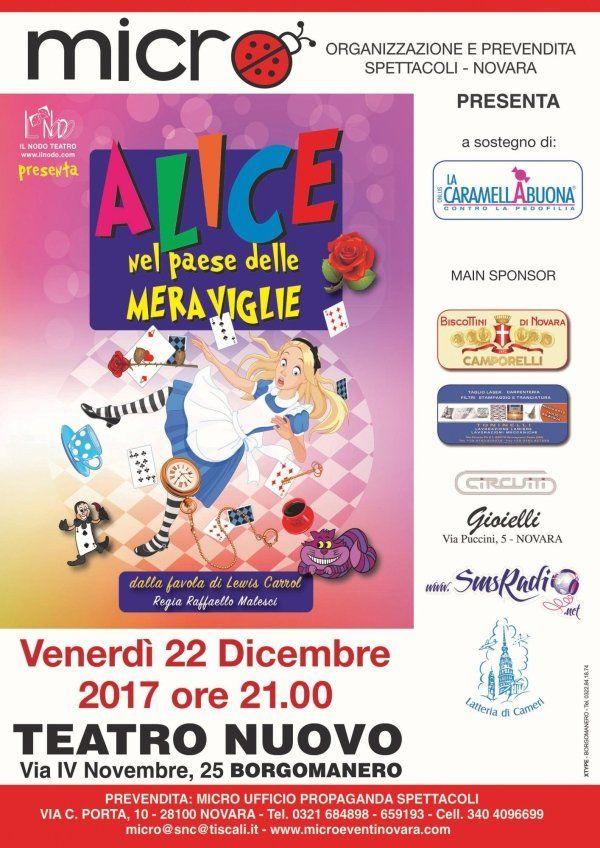 Alice nel Paese delle Meraviglie, spettacolo a teatro