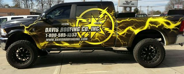 David's Roofing Co truck