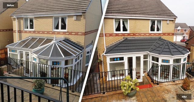 Conservatory Roof Conversion >> Rated Roofing Conservatory Roof Conversion Specialists Free Quotes