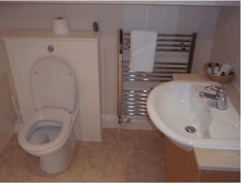 bathroom interiors of the Inn