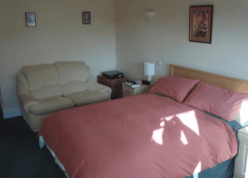 beds at The Mucky Duck Inn