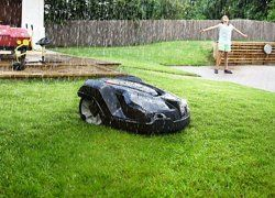 automower rain