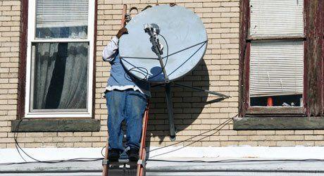 Dish relocation