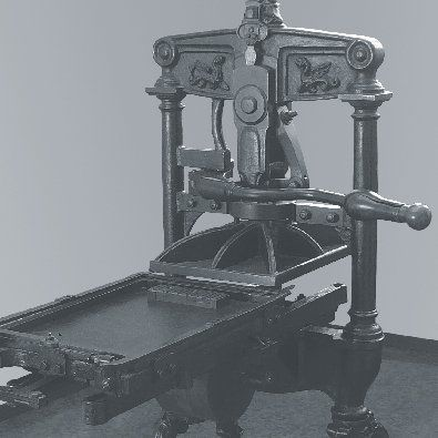 macchina da stampa litografica