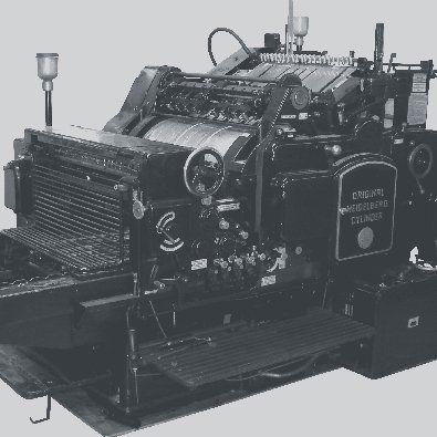 stampante degli anni '30