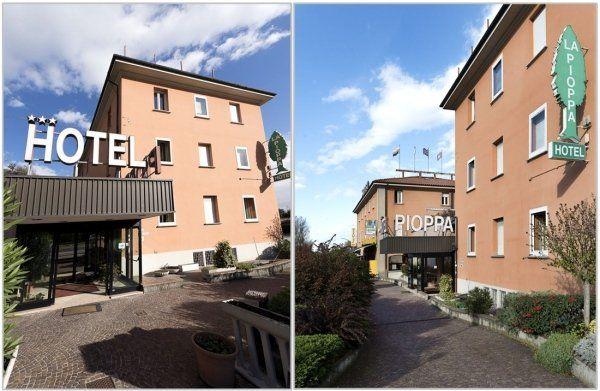 Hotel la Pioppa facciata esterna