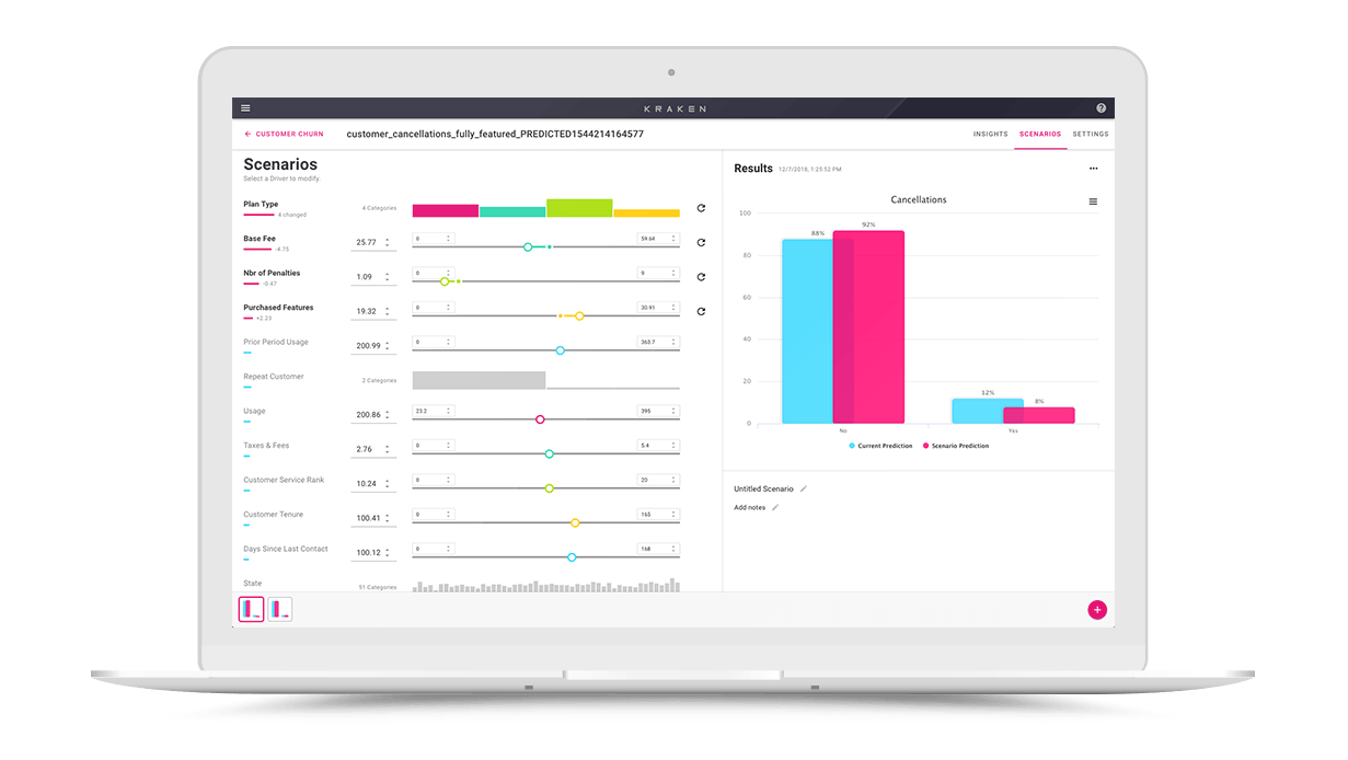 Kraken: AI & Machine Learning for the Business User   Big Squid