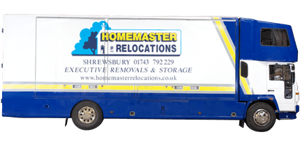 Homemaster Relocations removals lorry