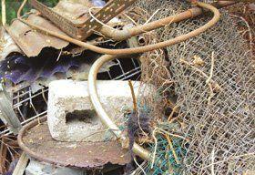 Domestic scrap - Oakham - Seaton Salvage & Recycling Centre - Scrap