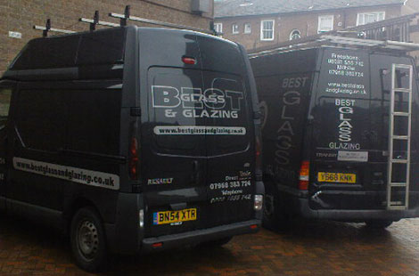 Our company vehicles