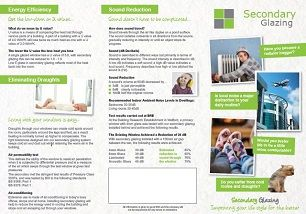 Our brochure on Secondary Glazing