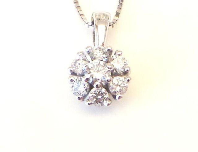 Cattelan - ciondolo a griffes con diamanti