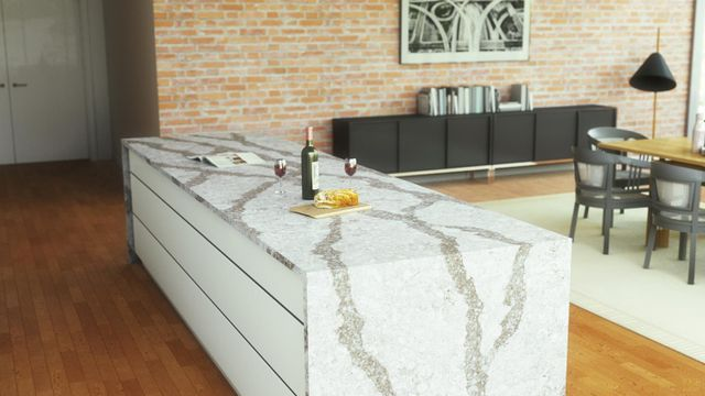 Quartz Surfacing Is Made From The Same Strong Natural Components As Granite Namely Minerals That Are Bound Together By Resin Forming An Extremely