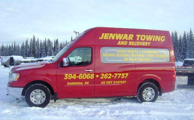 Our towing service in Soldotna, AK
