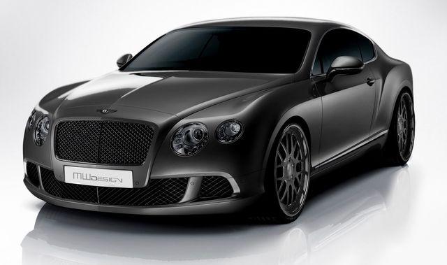 Dark Grey Bentley car