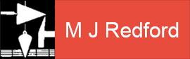 M J Redford logo