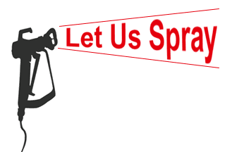 Let Us Spray  logo