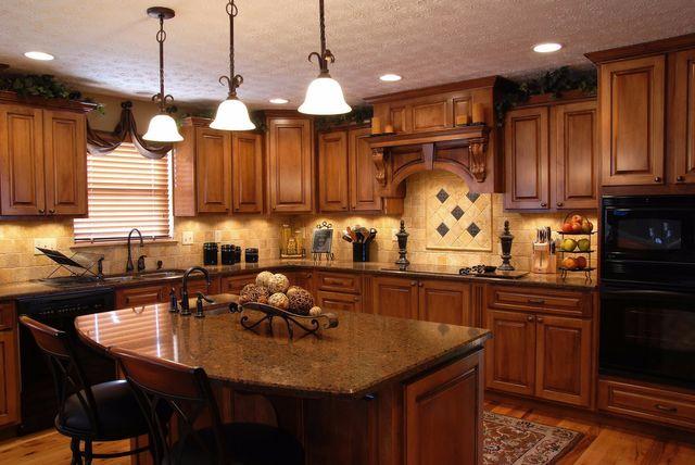 Craftsman-Style Custom Kitchen Cabinets