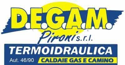 D.E.G.A.M. TERMOIDRAULICA PIRONI logo