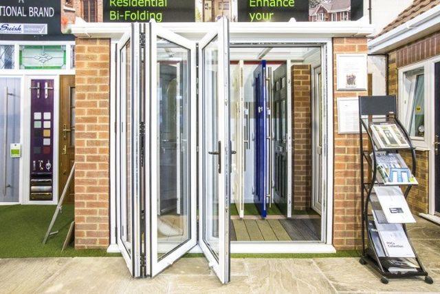 Beautiful Bi Folding Doors Grassmoor Glass