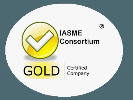 iasme consortium gold certified company partner logo