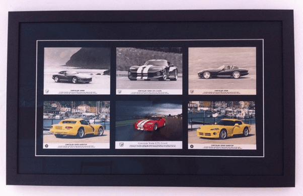 vehicles picture frame