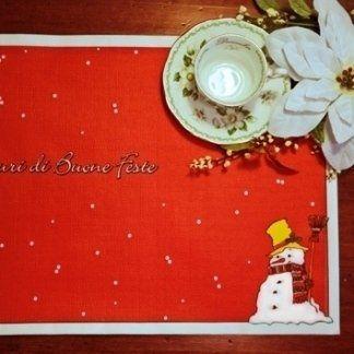 articoli natalizi, tovaglia natalizia, tovaglia per festività