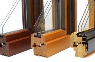 serramenti alluminio - legno