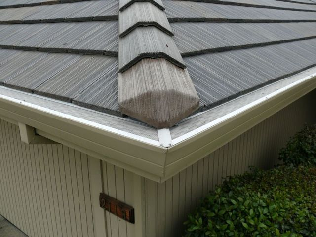 Gutterglove mesh gutter guards tnt rain gutters gutterglove gutter guard works with any existing roofing material shake tile cedar flat roofing metal etc so no matter what type of roof you have solutioingenieria Choice Image