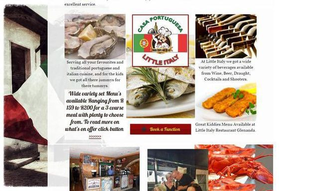 Little Italy Website