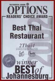 2 Thai 4 Award