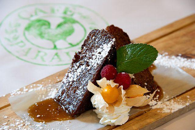 Cafe Paradiso Food