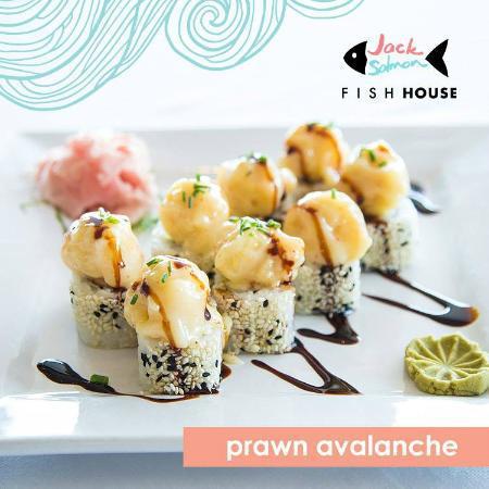 Jack Salmon Sushi