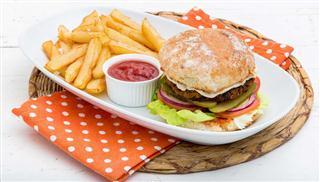 Leafy Greens Cafe food