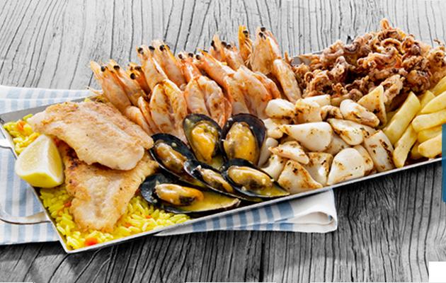 Ocean Basket Platter