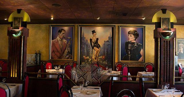 New York restaurant décor