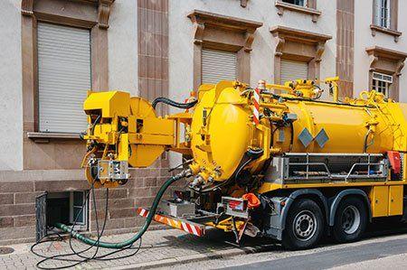La più avanzata macchinari come questo camion per curare e risolvere rapidamente il problema